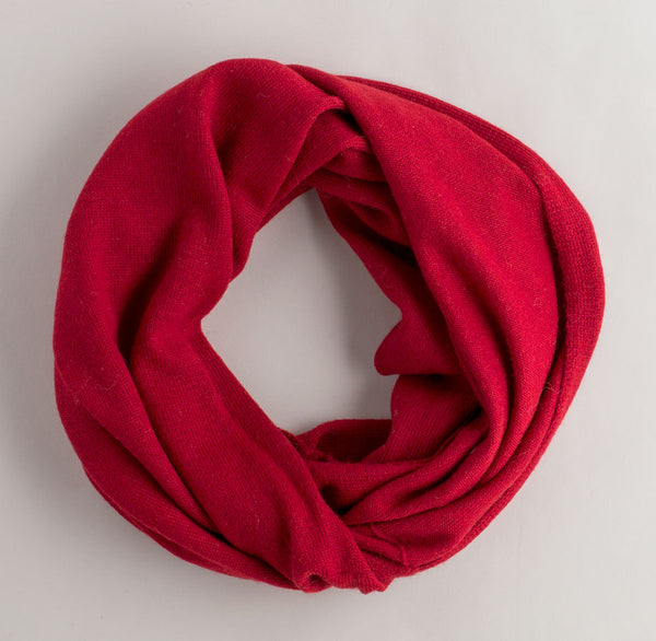 infinity scarf-accessories - scarves - winter-alicia adams alpaca-red-k colette
