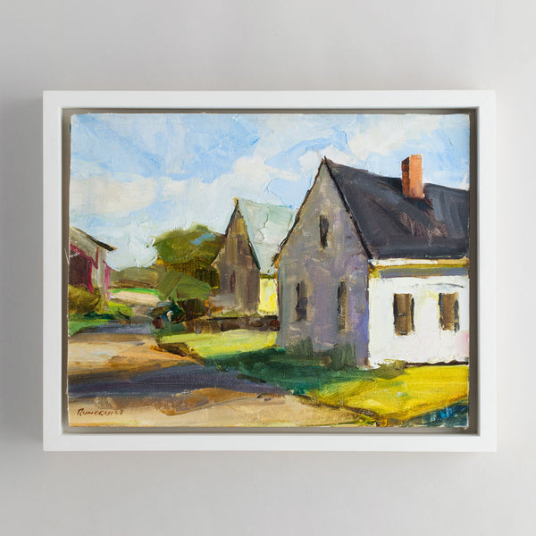 'main street' oil painting-art & decor - paintings & prints - maine-beth rundquist-k colette