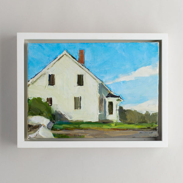 'vaughn house' oil painting-art & decor - paintings & prints - maine-beth rundquist-k colette