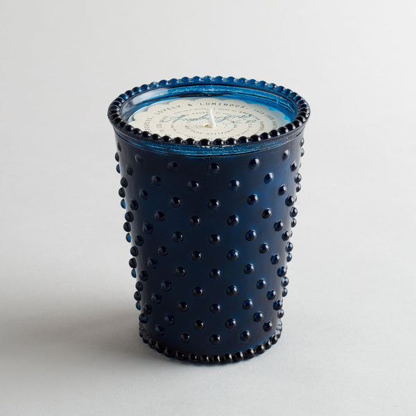 hobnail candle, ambergris-apothecary - candles-simpatico by k hall designs-k colette