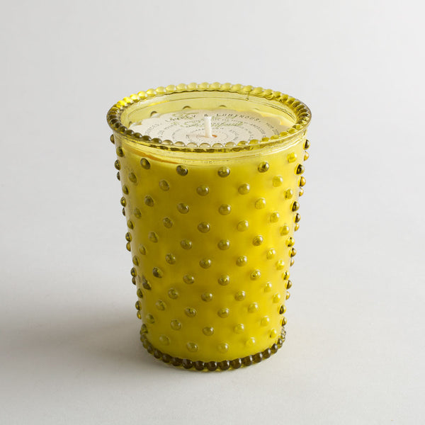 hobnail candle, fir & grapefruit-simpatico by k hall designs-k colette