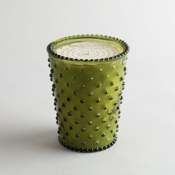 hobnail candle, wildflower-apothecary - candles-simpatico by k hall designs-k colette