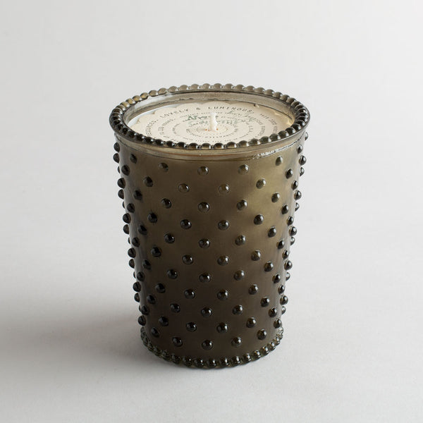 hobnail candle, nag champa-apothecary - candles-simpatico by k hall designs-k colette