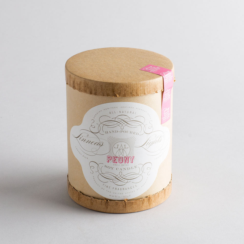 peony candle-art & decor - apothecary - candles-linnea's lights-k colette