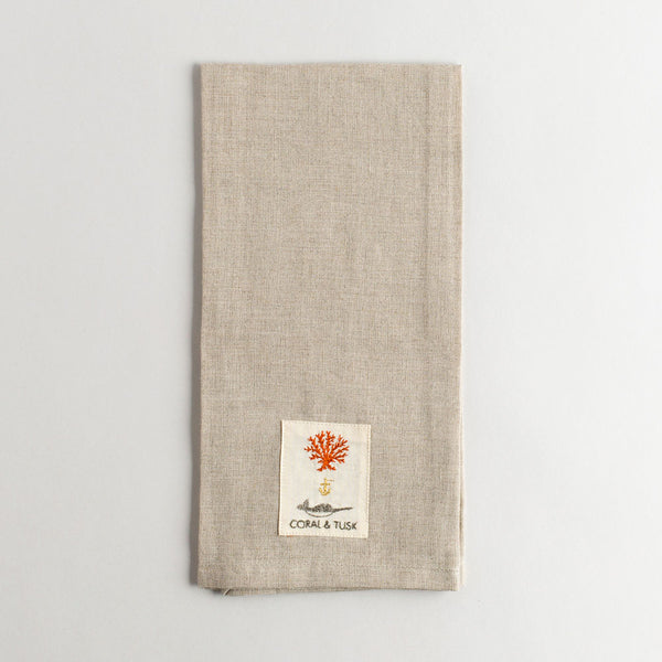 animal tree tea towel-holiday - kitchen & dining - tea towels & aprons-coral & tusk-k colette