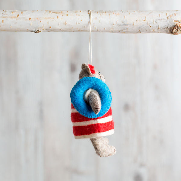 coco beach bear ornament-holiday - ornaments-craftspring-k colette