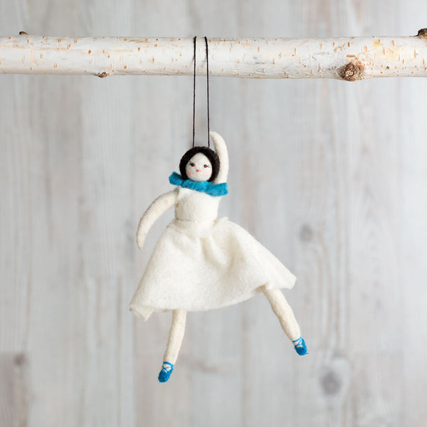 graceful ballerina ornament-holiday - ornaments-craftspring-k colette