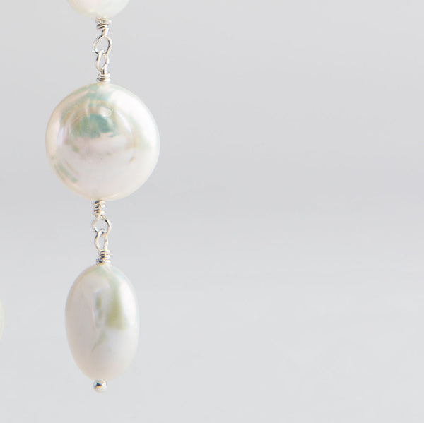 triple coin pearl earrings-accessories - jewelry-lisa gent jewelry-k colette