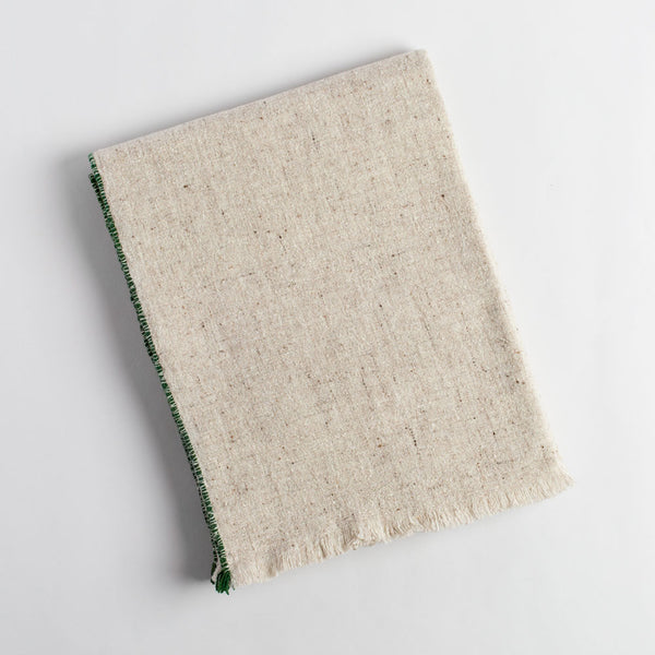 dark green sisteron throw-art & decor - throws-teixidors-k colette