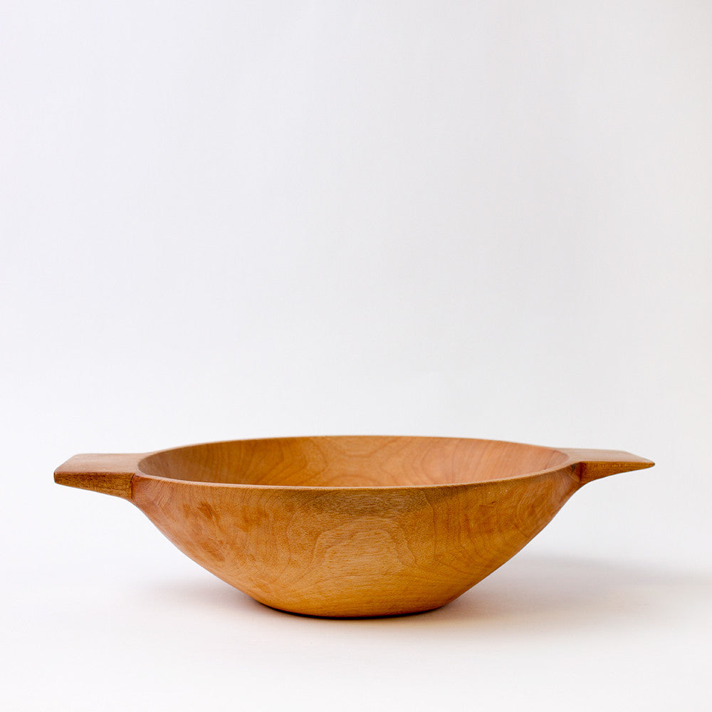 medium higuerilla wood bowl with handles-kitchen & dining - serveware-sobremesa-k colette