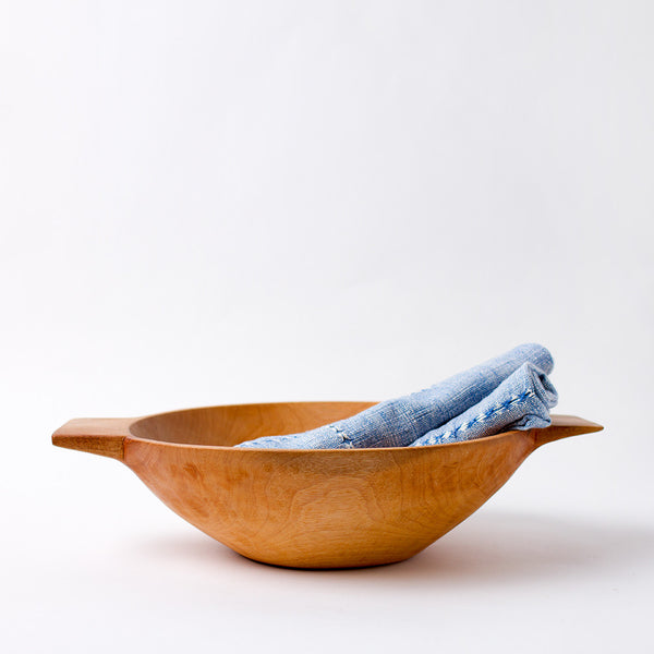 medium higuerilla wood bowl with handles-kitchen & dining - serveware - love-sobremesa-k colette