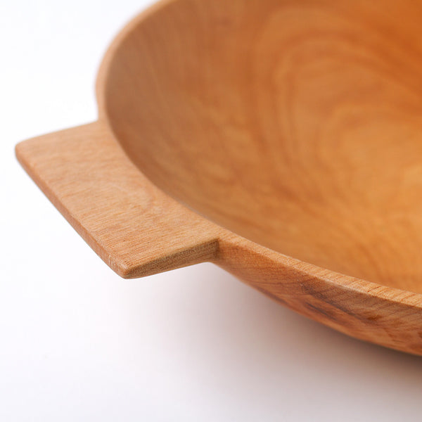 large higuerilla wood bowl w/ handles-kitchen & dining - serveware-sobremesa-Default Title-k colette