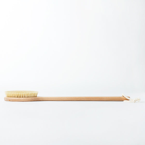 beechwood bath brush-apothecary - bath accessories-redecker-k colette