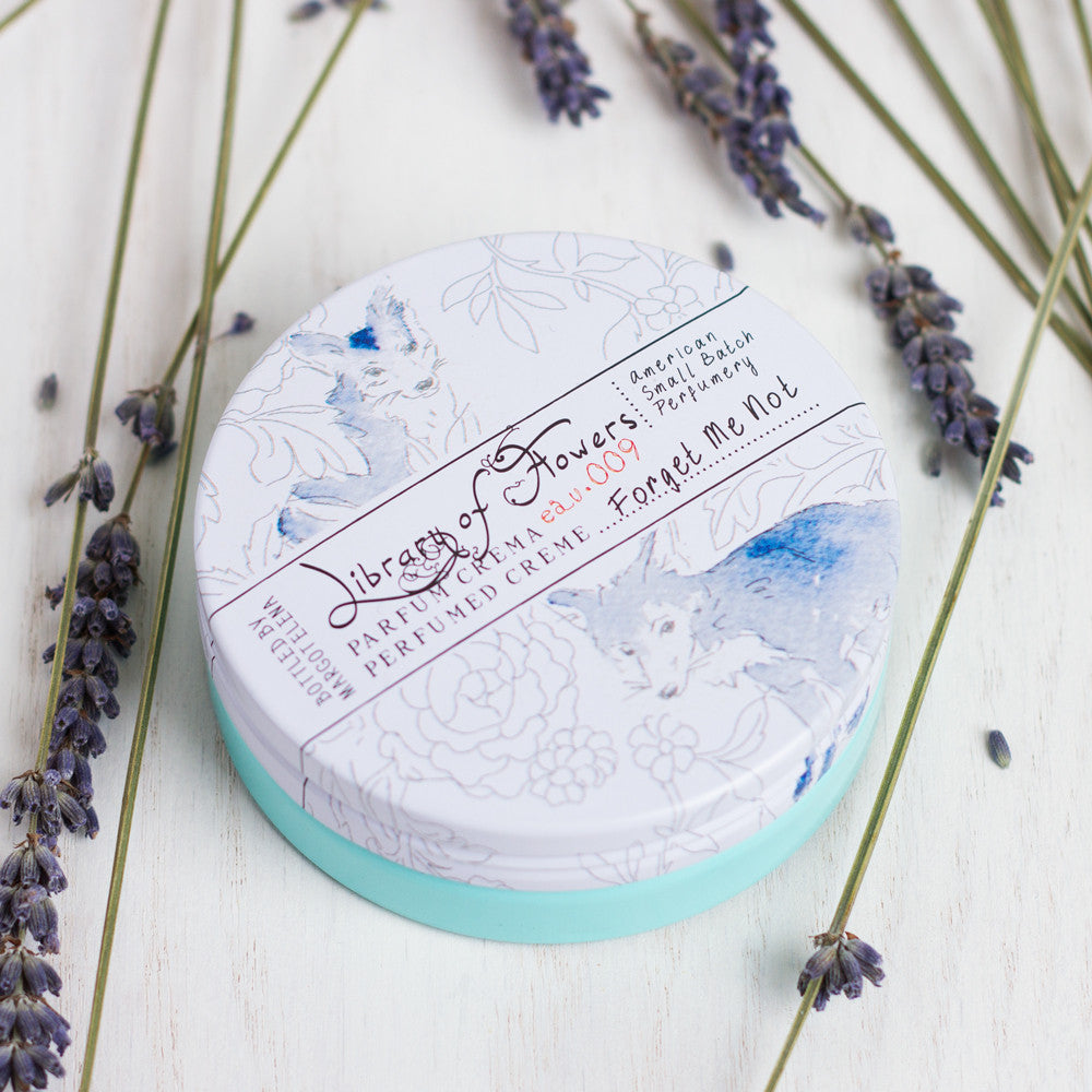 forget me not parfum crema-apothecary - soaps & lotions - fragrance-library of flowers-k colette