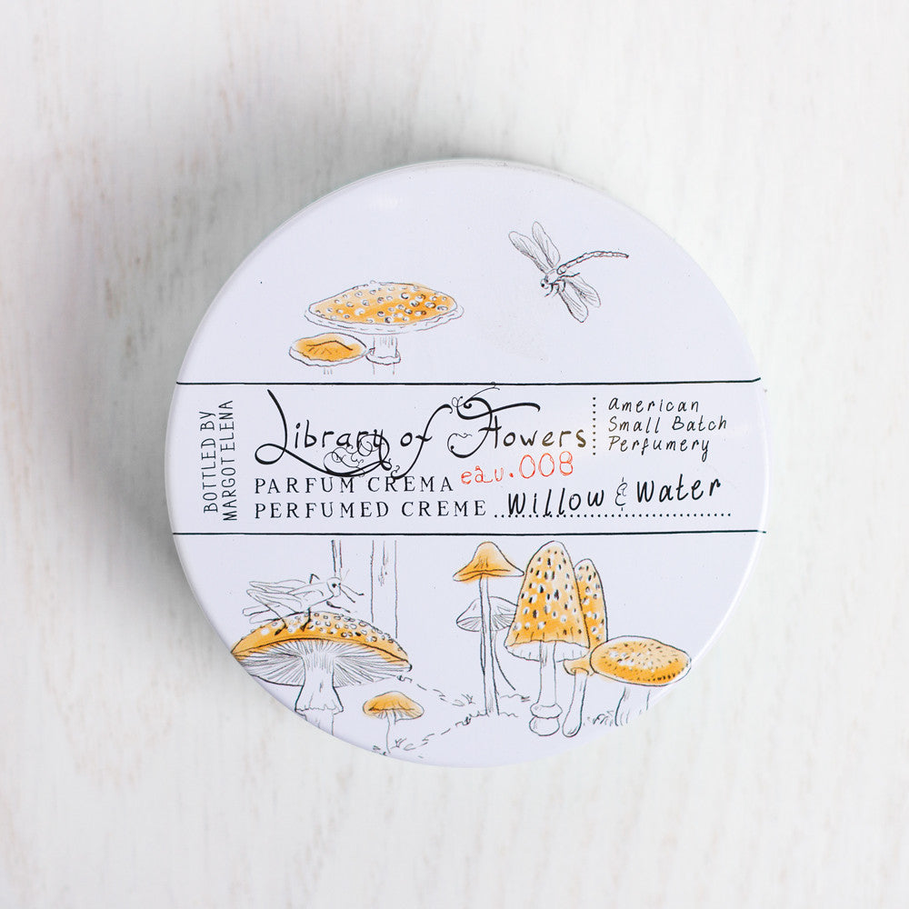willow and water parfum crema-apothecary - soaps & lotions - fragrance-library of flowers-k colette