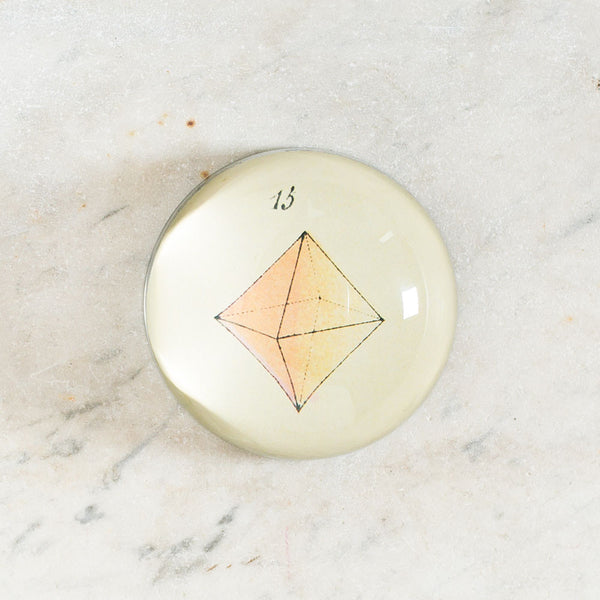 pink (15) triangle stone dome paperweight-art & decor - decoupage - desktop - paperweights-john derian-Default-k colette