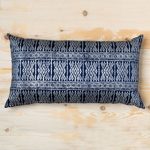taraz dupioni silk bolster pillow-textiles - pillows - bedding-john robshaw-Default-k colette