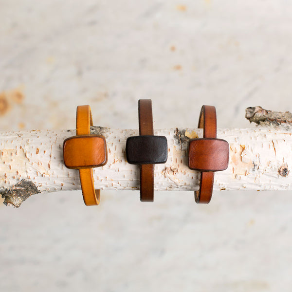 chas leather bracelet-accessories - jewelry - sale-a.b.k.-yellow-small-k colette