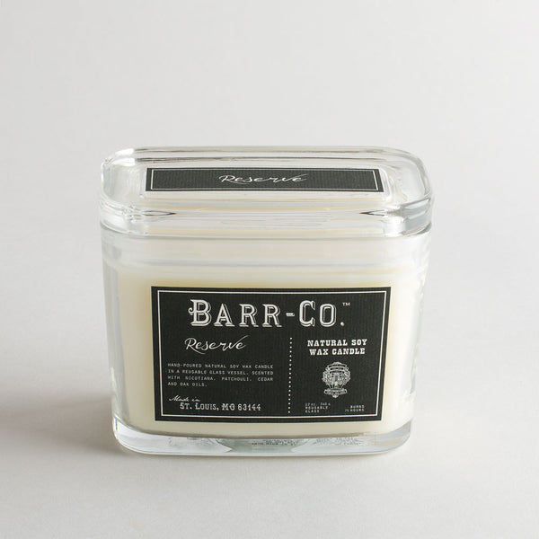 reserve 2 wick jar candle-apothecary - candles - for him-barr-co. by k hall designs-k colette
