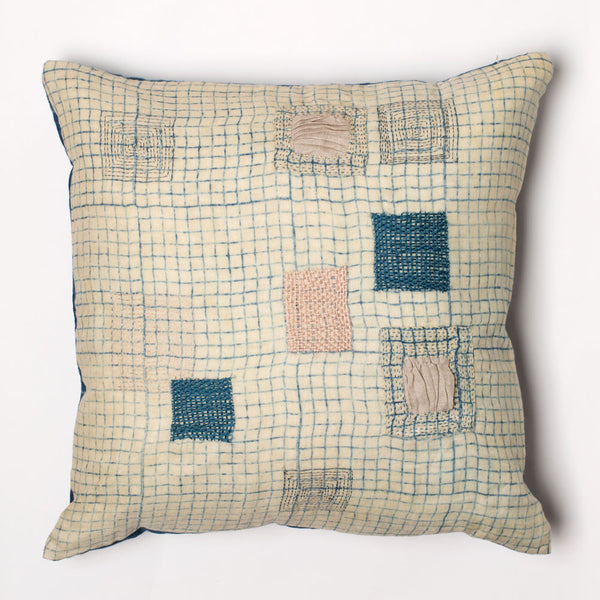 indigo patch pillow-textiles - pillows - sale-anavila-Default-k colette