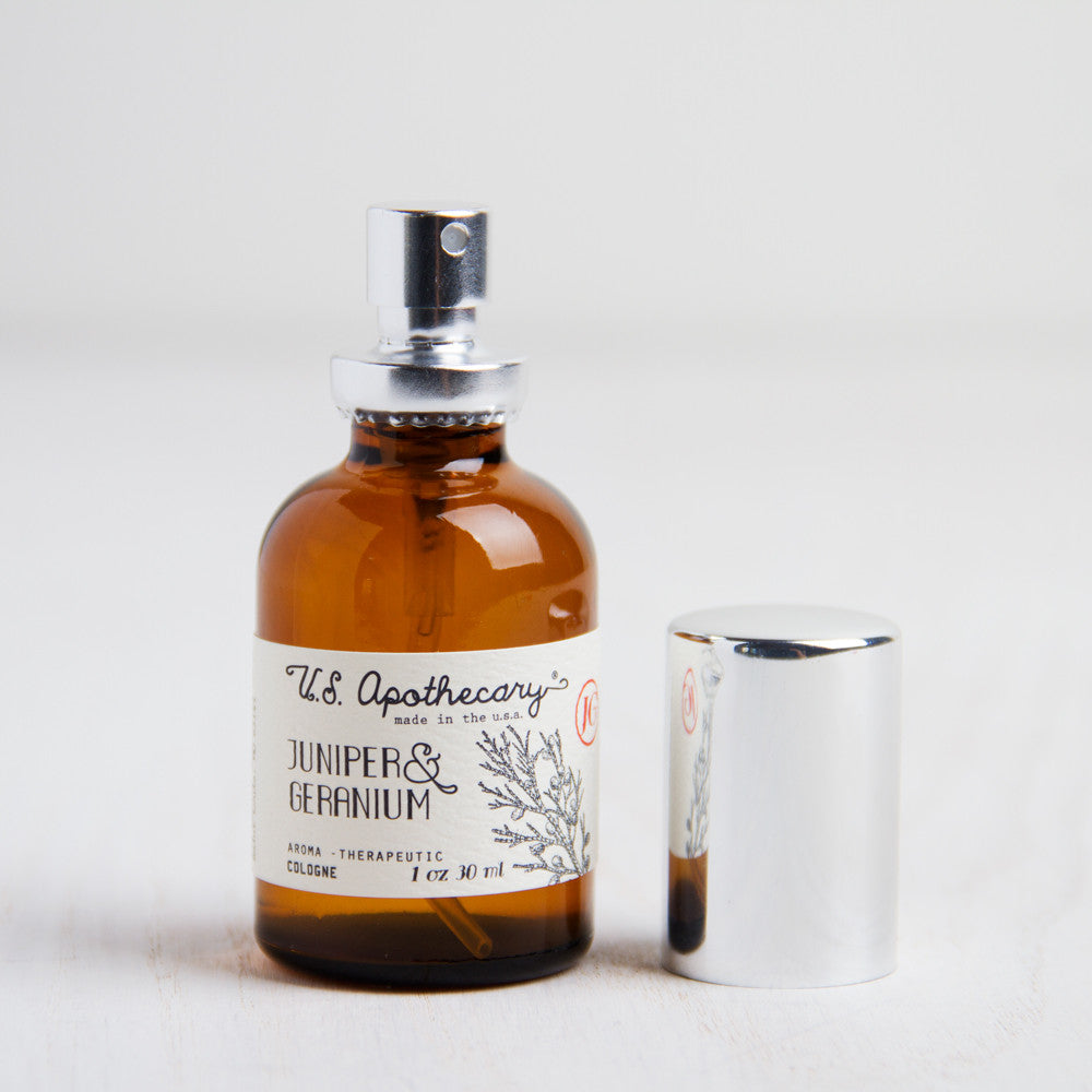 juniper & geranium cologne-apothecary - fragrance-us apothecary by k hall designs-k colette