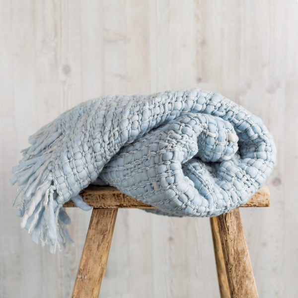 madrugada blanket-textiles - throws-arcade avec-baby blue-k colette