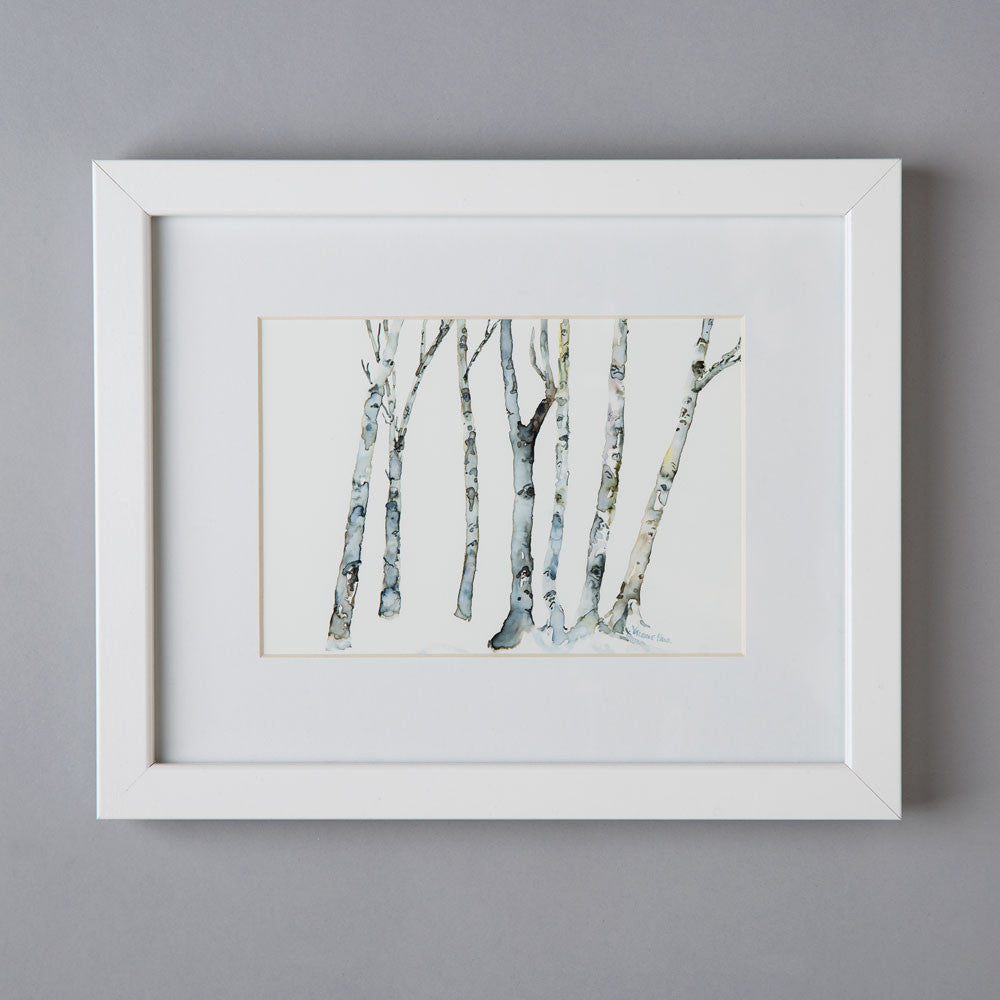 'bare trees' watercolor painting-art & decor - paintings & prints-valerie paul-k colette
