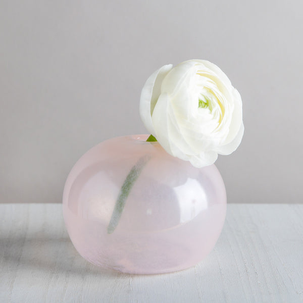 organic seed vase, light pink-art & decor - vases-lbk studio-k colette