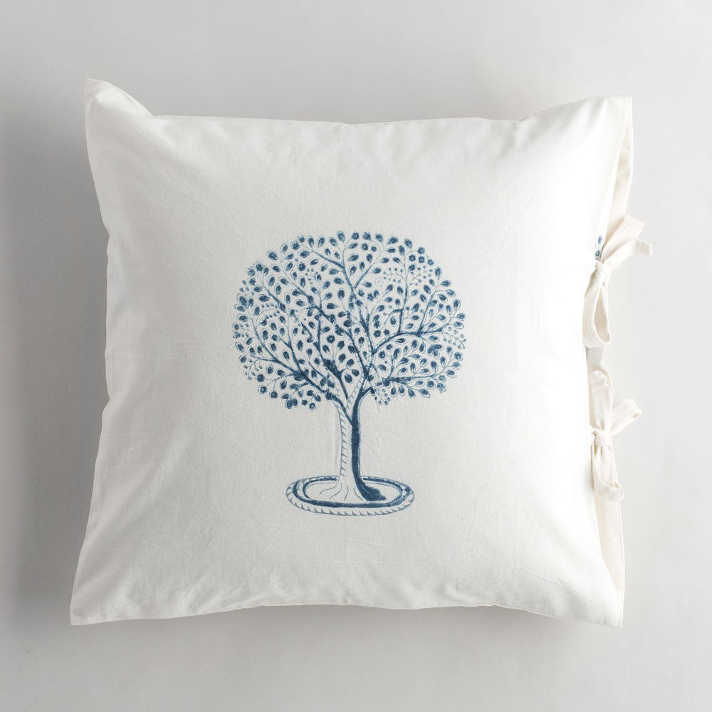 l'arbre indigo pillow-bed & bath - art & decor - pillows-les indiennes-k colette