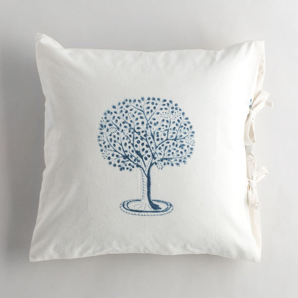 l'arbre indigo pillow-bed & bath - decor - pillows-les indiennes-k colette
