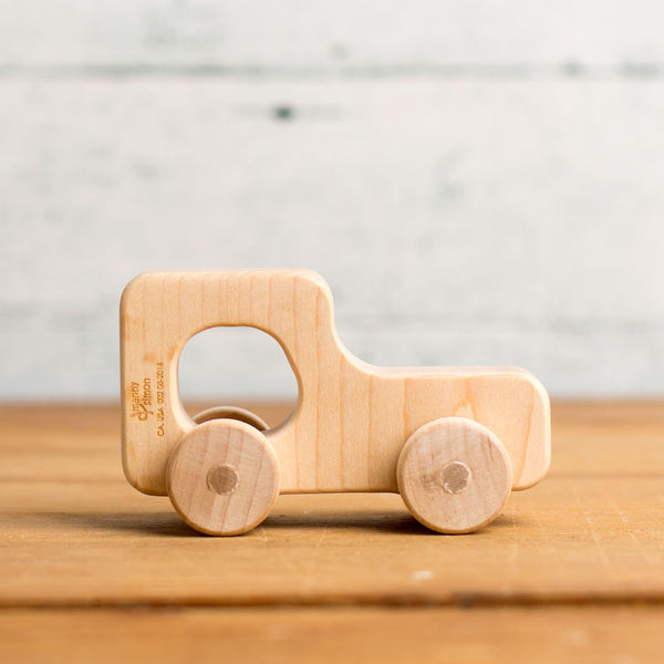 mini automobile wooden push toy-baby - toys-manny & simon-coupe-k colette