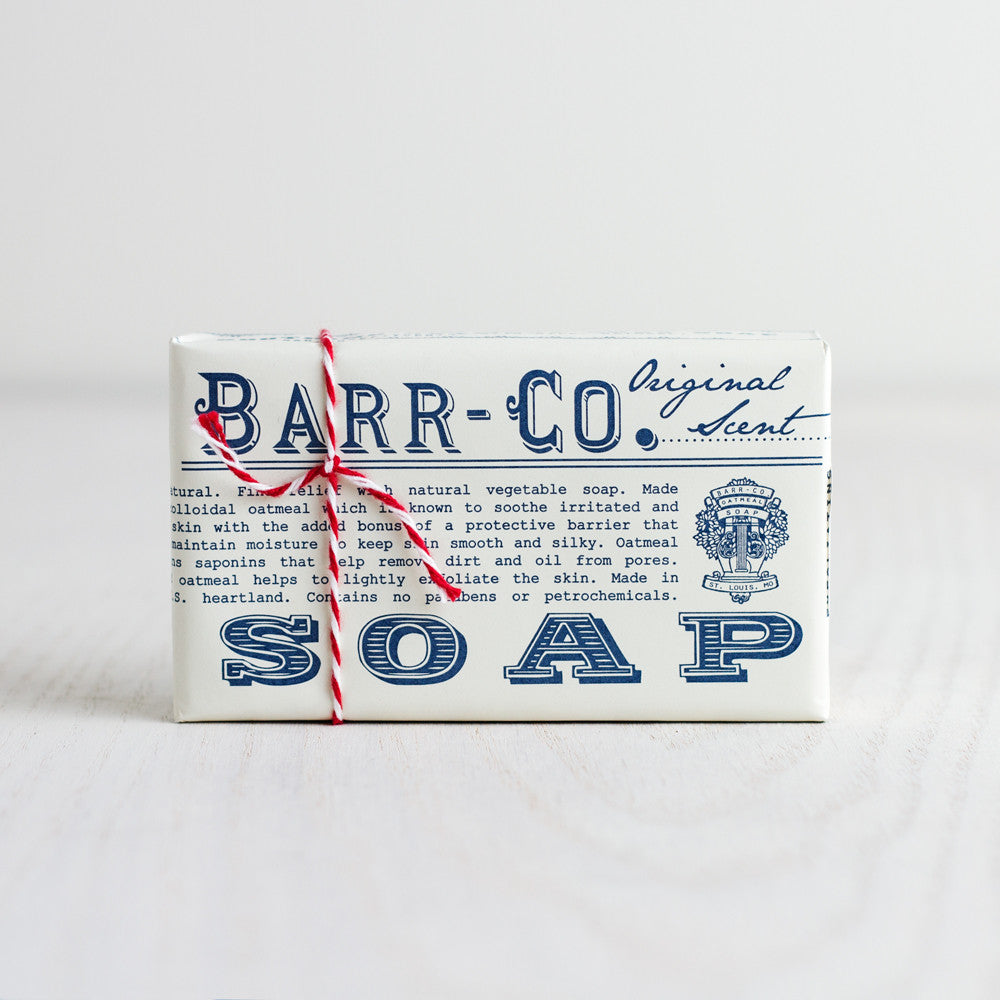 original oatmeal soap-apothecary - soaps & lotions-barr-co. by k hall designs-k colette