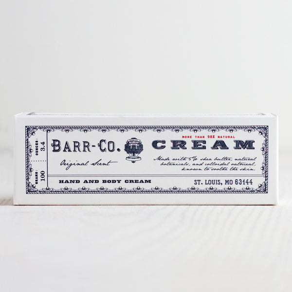 original hand & body cream-apothecary - soaps & lotions-barr-co. by k hall designs-k colette