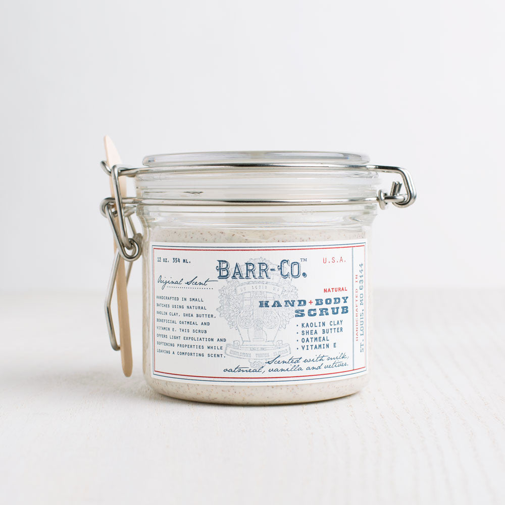 original clay face scrub-apothecary - salts & scrubs-barr-co. by k hall designs-k colette