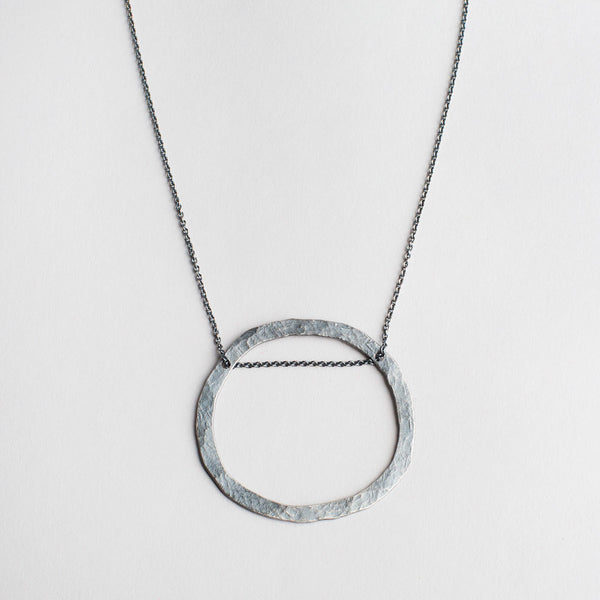 wide groovy circle necklace-accessories - jewelry-lisa gent jewelry-k colette