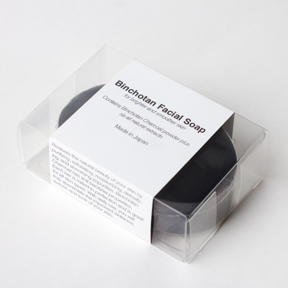 charcoal facial soap-apothecary - soaps & lotions-binchotan charcoal by morihata-k colette