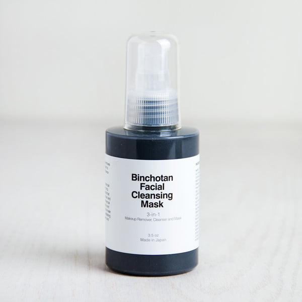 charcoal cleansing face mask-apothecary - salts & scrubs-binchotan charcoal by morihata-k colette