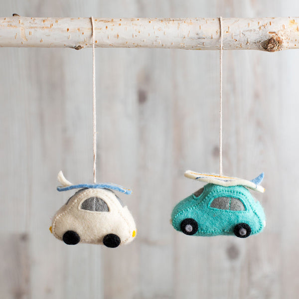 catch a wave car ornament-holiday - ornaments-craftspring-k colette