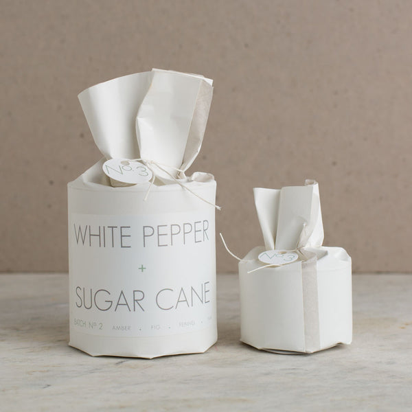 white pepper & sugar cane soy candle-candles - candles-rica bath & body-22 oz-k colette