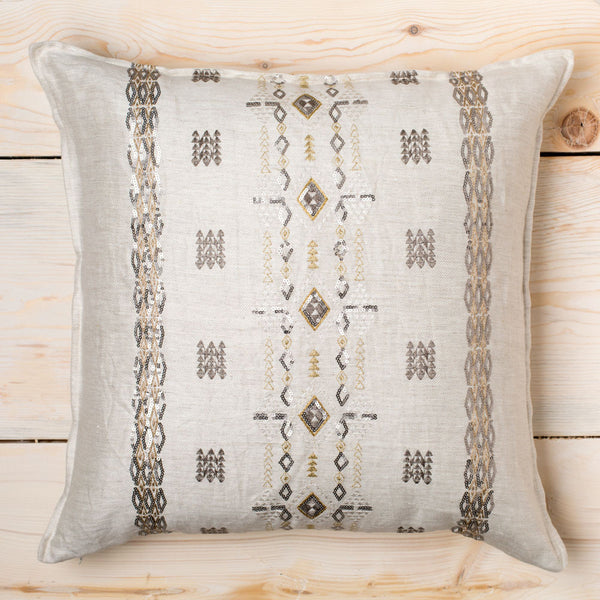 berber sequin pillow-bed & bath - decor - pillows-coral & tusk-k colette