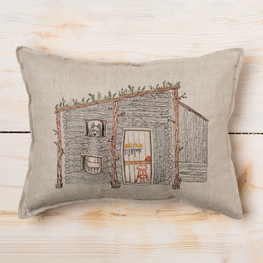 wolf gunsmith cabin pocket pillow-textiles - pillows-coral & tusk-Default Title-k colette