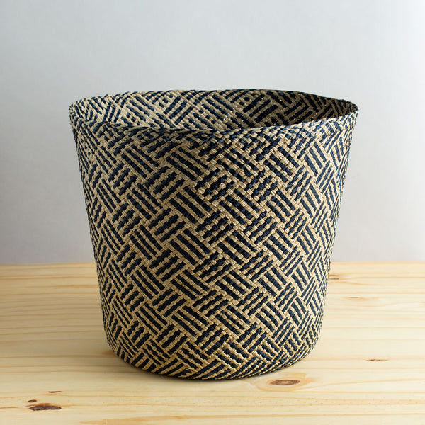 africa iraca basket, navy-art & decor - decorative objects-guanábana-Default-k colette