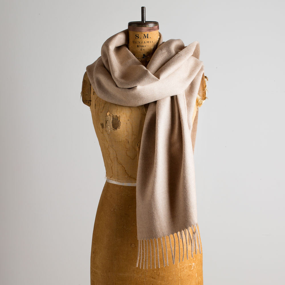 alpaca scarf-accessories - scarves - luxury-maloca-oatmeal-k colette