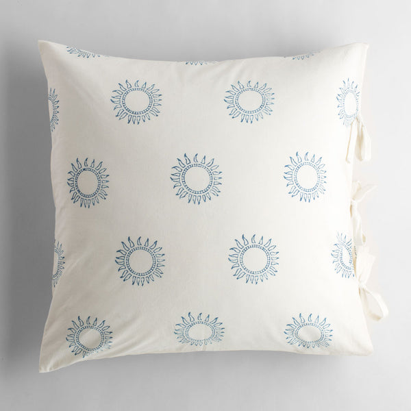soleil indigo pillow-bed & bath - art & decor - pillows-les indiennes-k colette