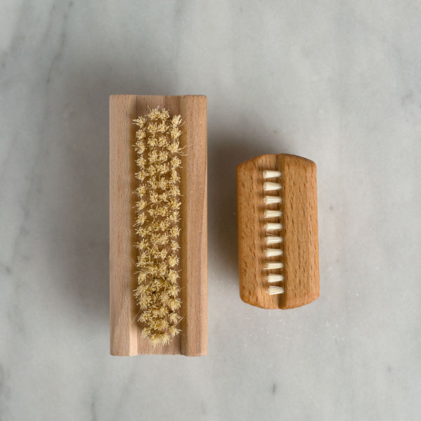 simple nail brush-apothecary - bath accessories-redecker-small-k colette