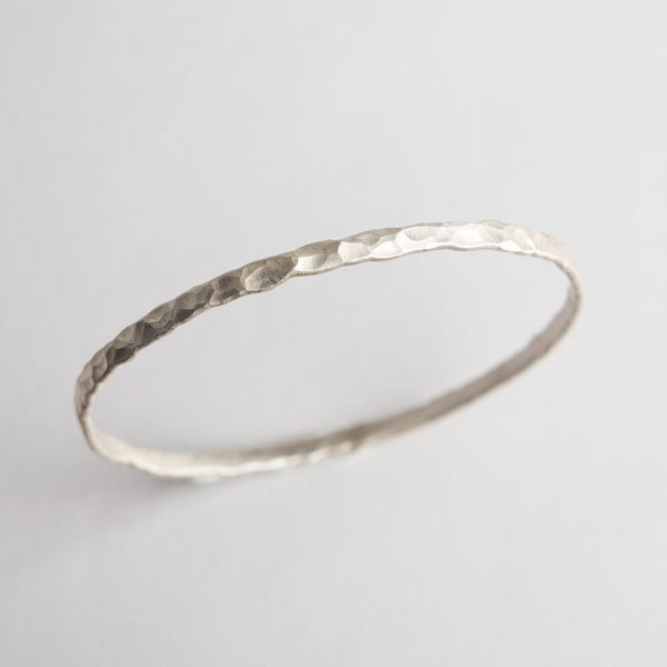 matte silver forest bangle-accessories - jewelry-lisa gent jewelry-k colette