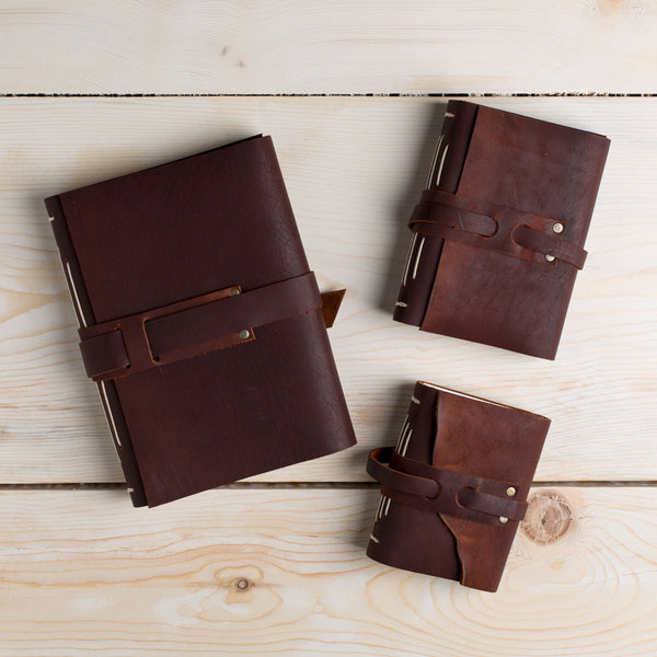 leather cabin book-desktop - journals-dski design-small-k colette