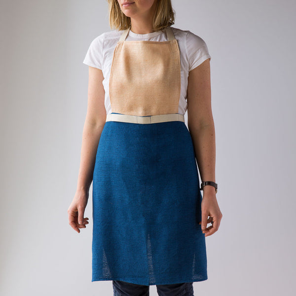 color block apron-kitchen & dining - tea towels & aprons-sin-k colette