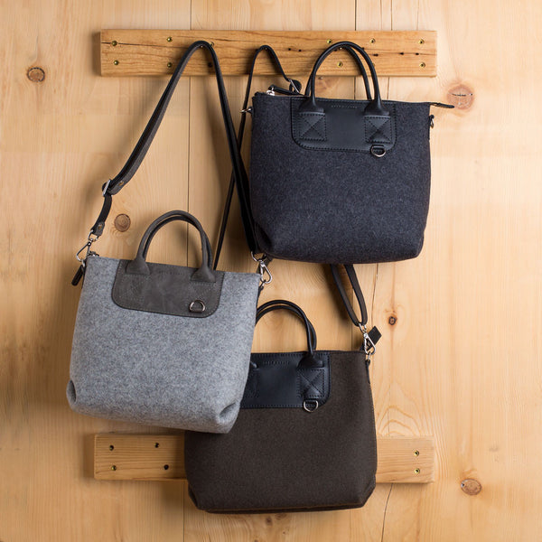 bedford crossbody tote-accessories - handbags & clutches-graf & lantz-charcoal-k colette