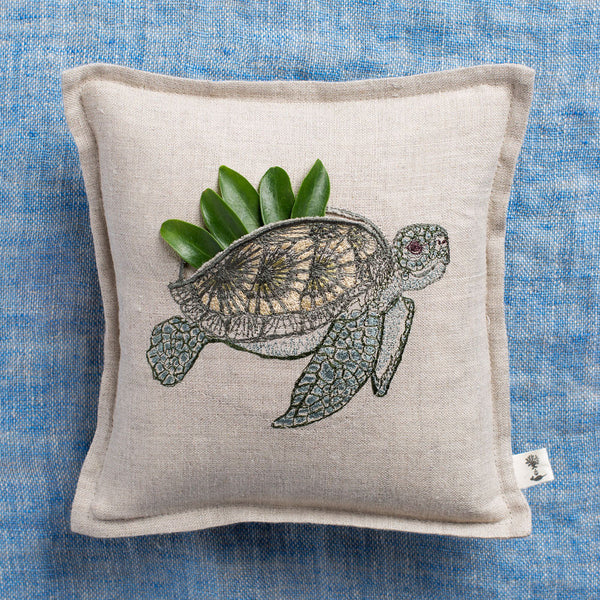 sea turtle treasure pillow-textiles - pillows-coral & tusk-Default-k colette